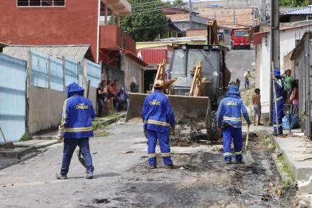Prefeitura trabalha na infraestrutura das ruas do Novo Israel