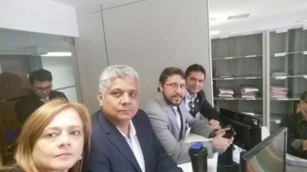 A força Tarefa do Amazonas, saiu otimista da reunião com o desembargador federal, em Brasilia