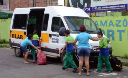 Segundo a SMTU, existem 354 operadores autorizados  para realizar a condução escolar em Manaus