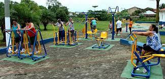 Conj. Vila da Barra, Z.Norte, também vai etr academia ao ar livre