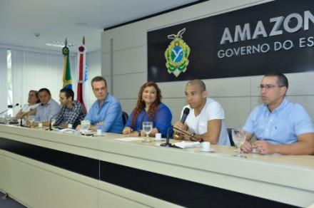Governo do Estado anuuncia jogo beneficente na Arena da Amazonia