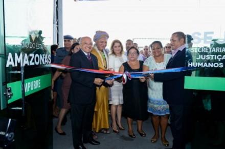 Inaugurado o Centro de Referencia dos Direitos humanos