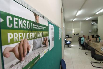 Link do censo previdenciário, ser[a disponibilizado a partir de segunda-feira