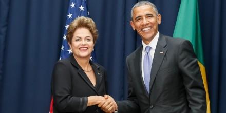 Dilma e Obama aceratm parceria para produzir vacina contra o Zika