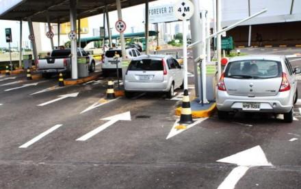Procon Manaus, fiscaliza estacionamentos dos shoppings