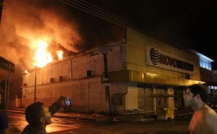N incêndio, foi  registrada nenhuma vitima