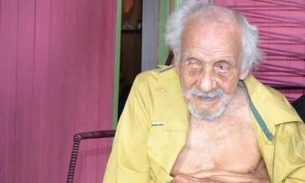 Cearense, ex--seringueiro, morador do Acre, pode ser o homem mais velho do mundo
