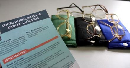 Jovens poderão receber óculos gratuitamente