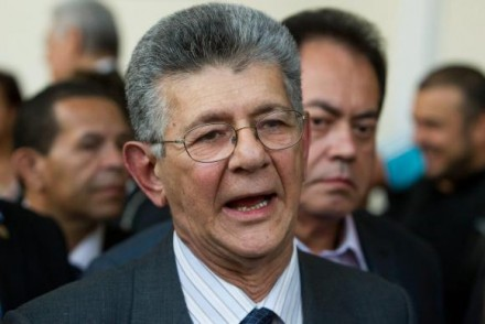Henri Ramos Allup, presidente do Parlamento