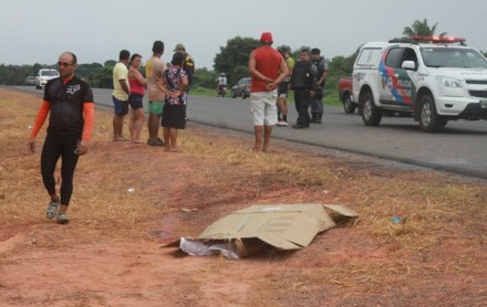 O acidente, ocorreu na AM -070