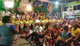 Com criatividades, os carnavalescos driblaram a crisre