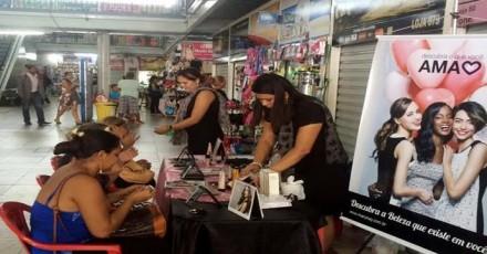 Mulhers com atedimento especial, nas galerias populares e camelódromos em Manaus