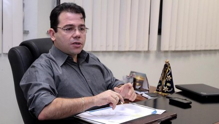 Vereador Wilker Barreto, presidente da CMM