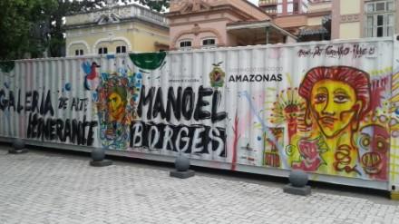 Encontro cultural no Largo de S.Sebastião
