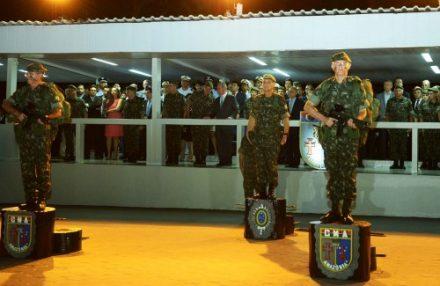 Cerimônia da troca de comando