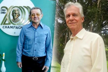 Os irmãos marita Sebastião Antonio Ferrari e Demérito Hernam, receberam o titulo de Cidadão do Amazonas, da SAleam