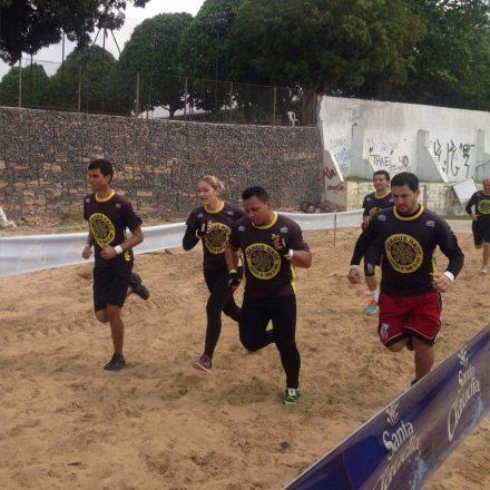 A competição promeet muito esforço e emoção dos participanes