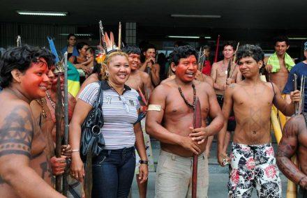 sensa atende população indigena em Manaus