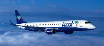 Azul terá três voos diretos semanais, entre Manaus e Fortaleza