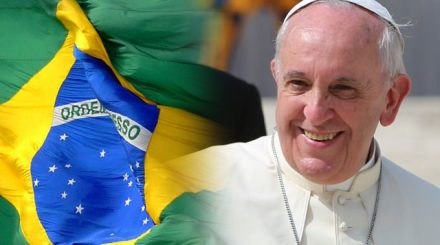 Papa Francisco, pede paz e harmonia, par o país que o recbeeu com alegria