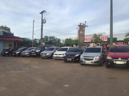 Os carros recuperados pela operação policial nas duas cidades, foram roubados em Manaus