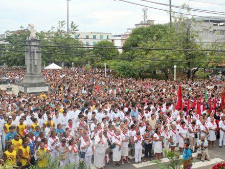 A concentração dos fies, foi na traidcional Praça do Congrssso