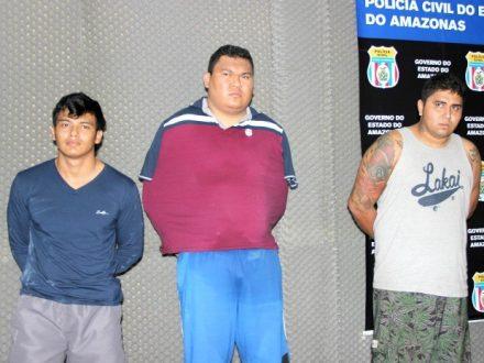 A prisão, contou com o apio do Grupo Fera