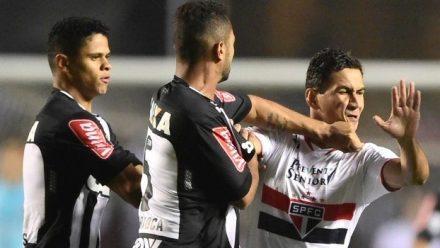 O jogo vencido pelo  S. Paulo, no Morumbi foi quente e agora vai a Minas em busca de um empate com o mesmo Atlético