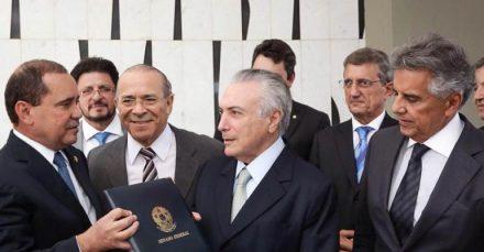 Michel Temer e os ministro do seu governo