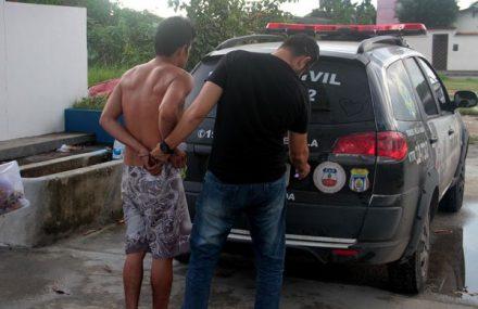 Mototaxistas acuso de estupro, preso no Tarumã