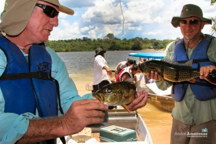 No Amazonas a modalidade é muito praticada, em Presidenre Figueirdo