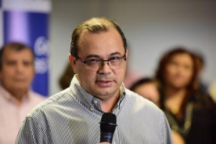 O secretário Pedro Elias, fala sobre o reordenamento