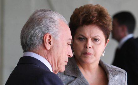 Temer, quer inventário do Governo Dilma, para melhora se situar da situação brasileira