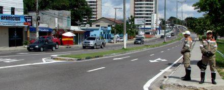 Com as alteraõoes, fiscalização no trânsito é intnsificada no D. Pedro