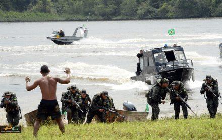 Operação Ágata do  EB, nas fronteiras