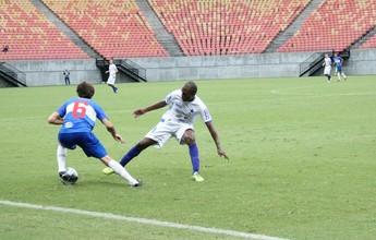A reaçaã do Nacional veio tarde, mas salvou o time da derrota