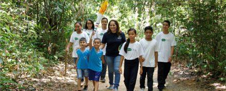 Alunos das escola municipais da zona Sul, realizam atividades Mindu