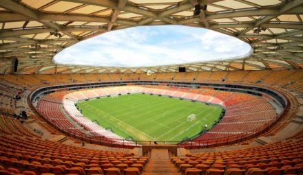 Arena da Amazônia, com a bola cheia no futebol das belas
