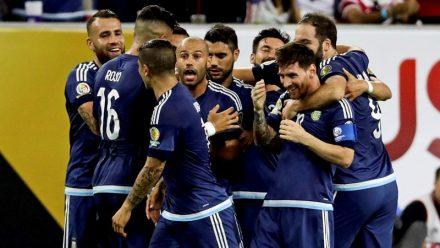 Argentina a primeira finalista da Copa América