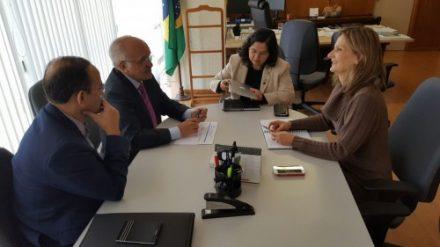 Governador José Melo, articular a liberação de recursos para o Estado, em brasilia
