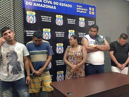 Policia efetua prisões na zona Sul