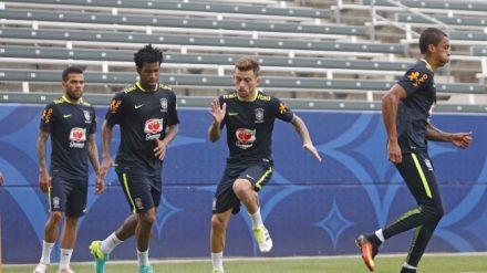 O desafio da seleção, que não começou bme a Copa América, é golear o Haiti