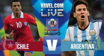 Chile e Argentina, fazem repeteco na final da Copa América
