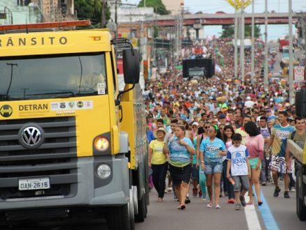Sbado tem a marcha para Jesus em Manaus e o transito será alterado em vários pontos