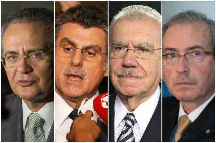 O pedido de prisão dos quatro está com o ministro do STF há pelo menos uma semana