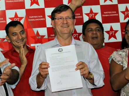 Deputado José Ricardo, lançado pre-canidato pelo PT a Prefeitura de Manaus