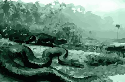 A lenda da cobra grane. Muitos acreditam
