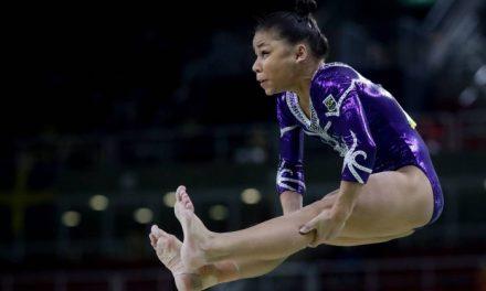Meninas da ginastica, podem ganhar uma medalhadourada para o Brasil