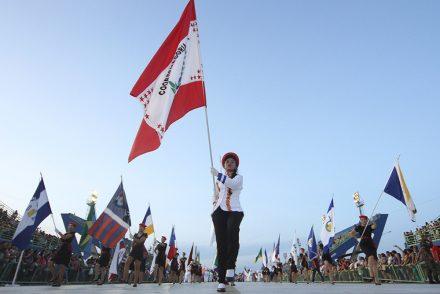 O desfile contará com 2,6 mil alunos 147 de escolas municipais da capital