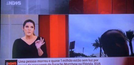 """Christiane Pelajo reclamou de falhas no telejornal """"Edição das 16h"""", do GloboNews"""